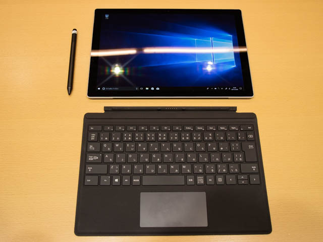マイクロソフト 新製品Touch Tryイベント SurfacePro分離