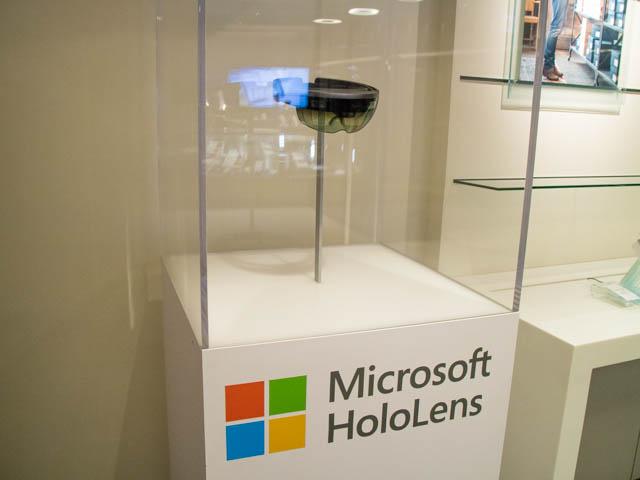 マイクロソフト 本社 30F HoloLens
