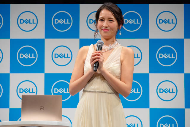 DELL新製品発表会201801 トークセッション 青木裕子