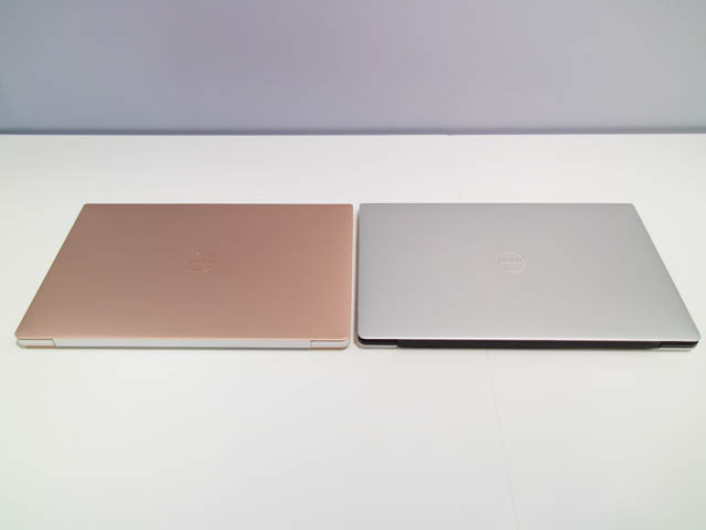 DELL新製品発表会201801 XPS13 カラバリ