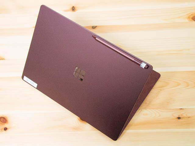 SurfaceLaptop ペン固定位置2