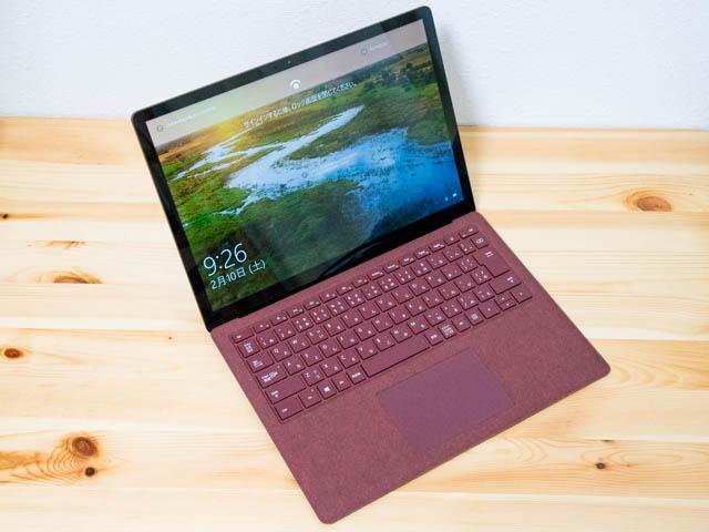【セール】MicrosoftストアでSurface Laptop core i5 ディスカウントセール中