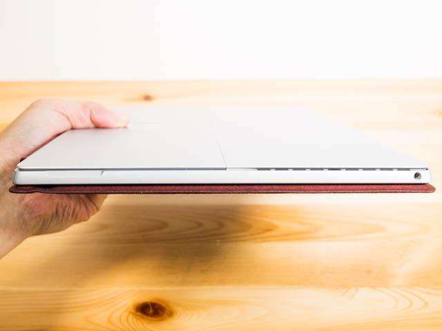 SurfacePro タイプカバー開閉部マグネット無し