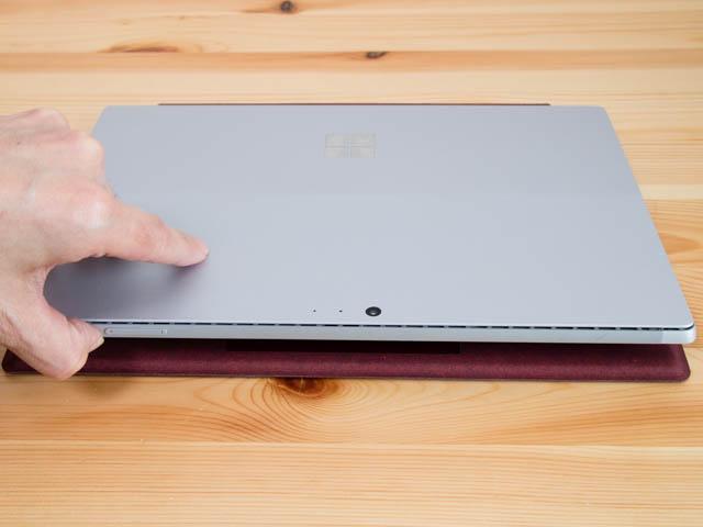 SurfacePro ラップトップモード設置2