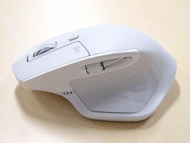 Logicool MX2100s左側面