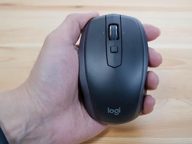 Logicool MX1600sホールド感