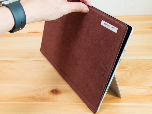 SurfacePro ラップトップモード設置3