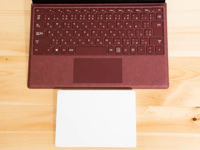 SurfacePro タイプカバータッチパッド