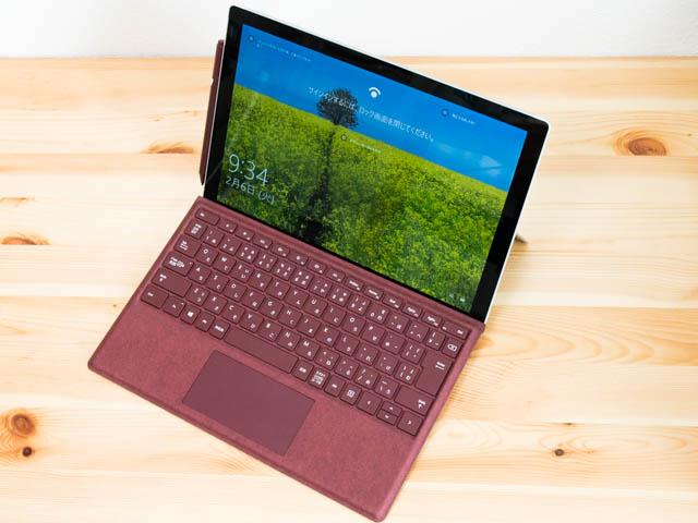SurfacePro ラップトップモード