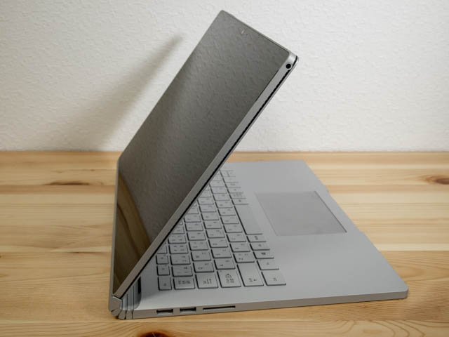 SurfaceBook2 ビュー