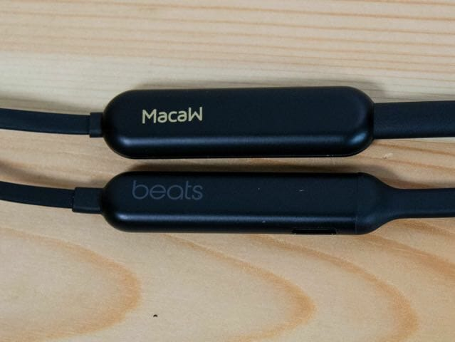 MacawTX 80 BeatsX比較バッテリー
