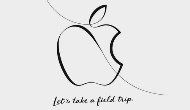 2018年3月Appleスペシャルイベントは教育機関向け