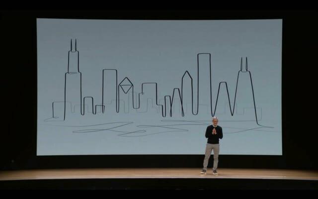 AppleSpecialEvent201803 ティム クック登壇