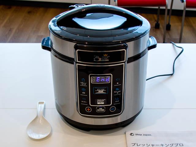 電気圧力鍋プレッシャーキングプロは圧力鍋としては有能、炊飯器としては物足りない
