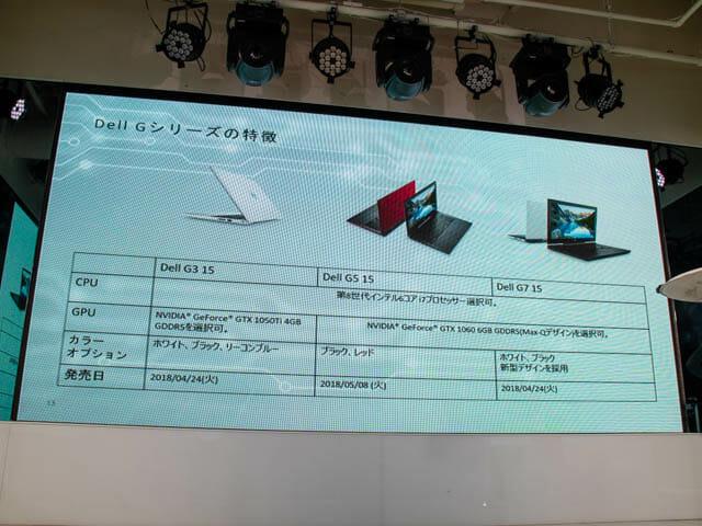 DELL新製品発表会201804 G特徴