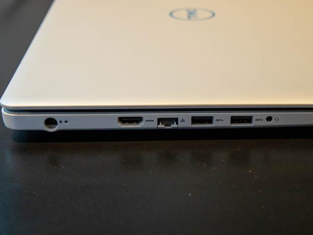 DELL新製品発表会201804 G3 15左側面ポート
