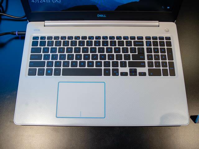 DELL新製品発表会201804 G3 15キーボード