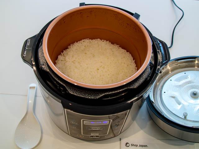 ショップジャパン プレッシャーキングプロ 炊飯