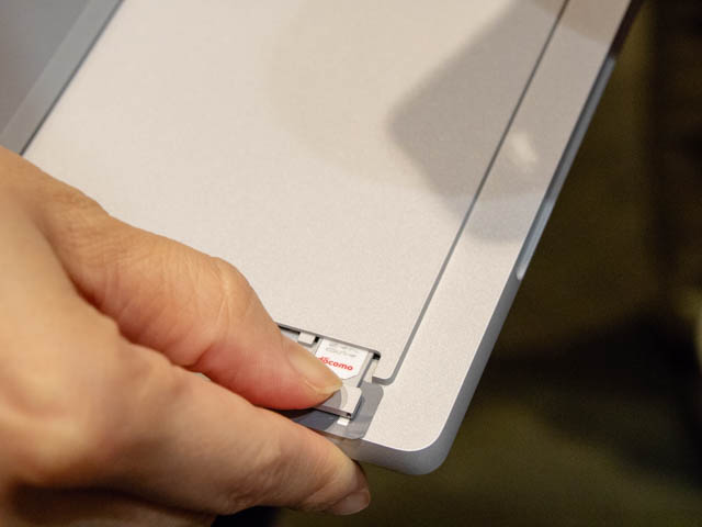 マイクロソフト イベント 201804 SurfaceProLTEAdvanced SIMカード