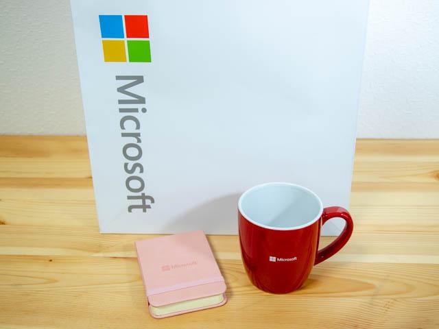 マイクロソフト イベント 201804 参加記念品