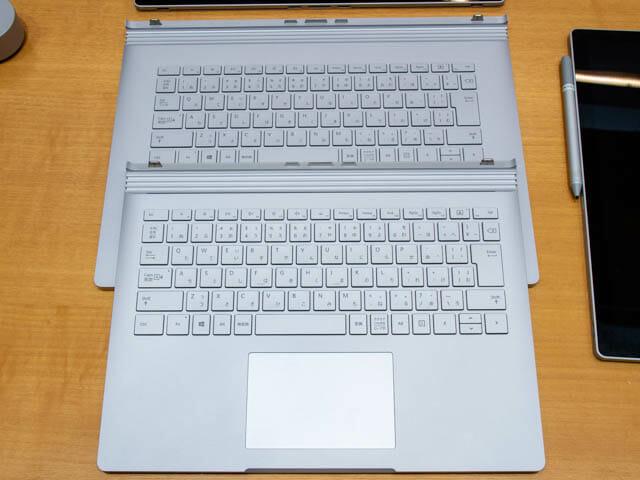 マイクロソフト イベント 201804 SurfaceBook2 13and15インチ キーボード