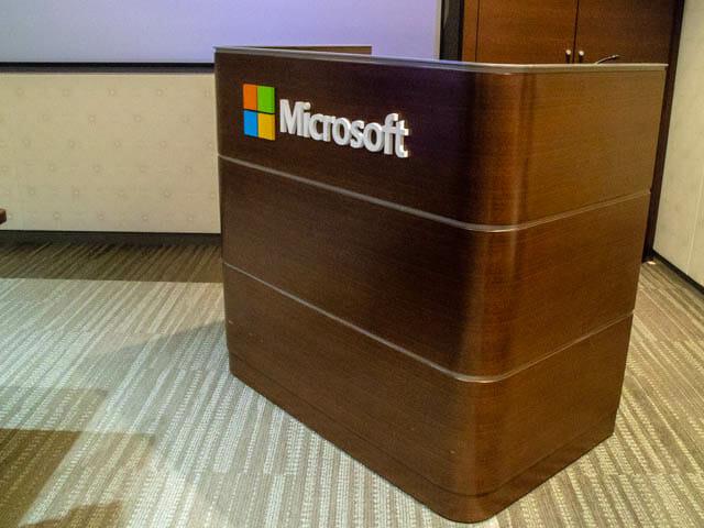 マイクロソフト本社のVIPルームと食堂を見学できた、新製品Touch&Tryイベント
