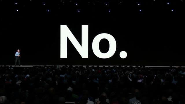WWDC18 macOSiOS No