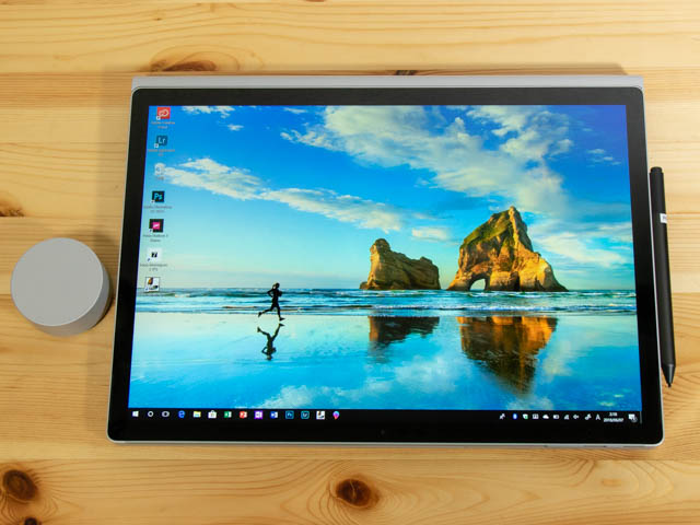 SurfaceBook2 15inch スタジオモード