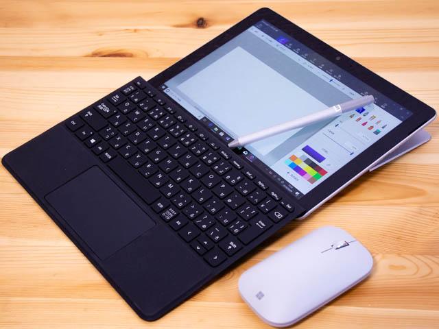 SurfaceGo スタジオモードタイプカバー付き