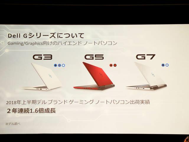 DELLGaming新製品発表会20180904 Gシリーズ