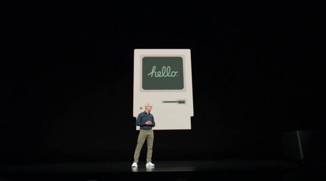 AppleSpecialEvent201809 クック登壇