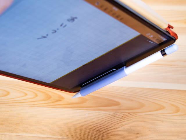 ApplePencilグリップ iPad固定 プレート有り磁力