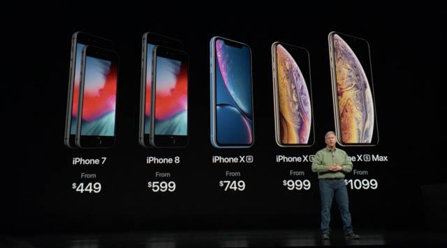 AppleSpecialEvent201809 iPhone価格
