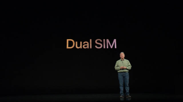 AppleSpecialEvent201809 iPhoneDualSIM