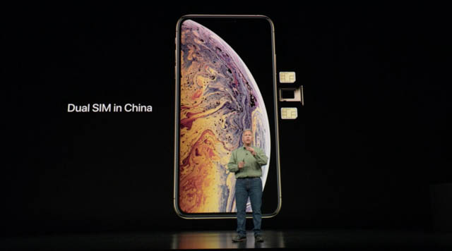 AppleSpecialEvent201809 iPhoneDualSiMinChina