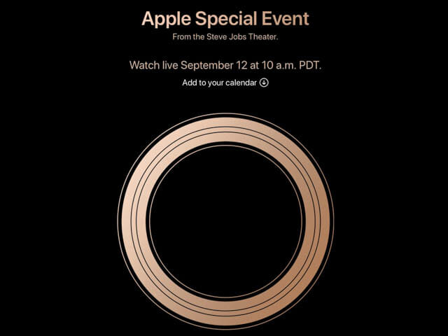 AppleSpecialEvent201809 タイトル
