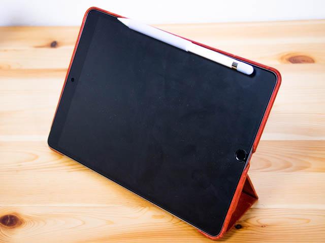 ApplePencilグリップ iPad固定 プレート無し正面