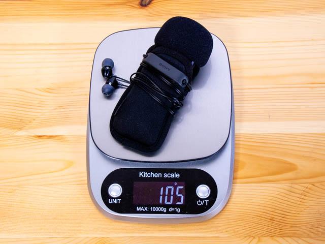ボイスレコーダーPCM A10 重さ