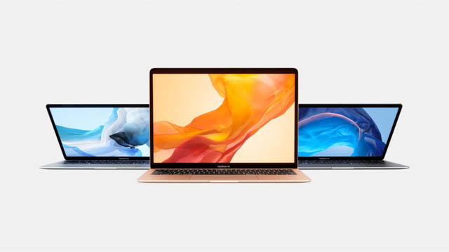 AppleSpecialEvent201810 MacBookAir カラバリ