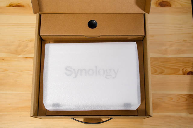 Synology2019Tokyo DS216j開封