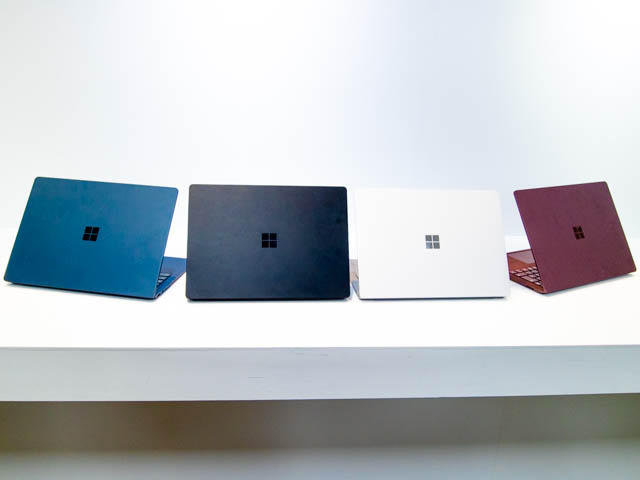Microsoft Japan Surface Event SurfaceLaptop2カラバリ4色