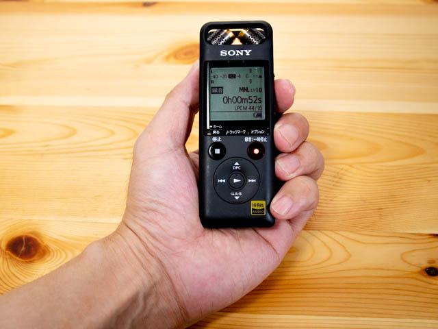 ソニーのリニアPCMレコーダー PCM-A10発売日前に開封