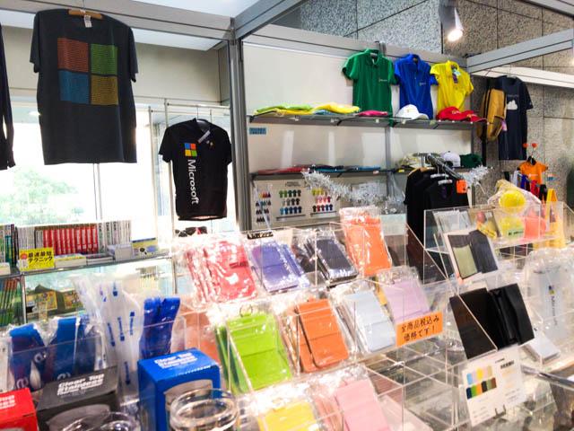 バイナリーTシャツ 日本マイクロソフト本社内TheMicrosoftCollection1