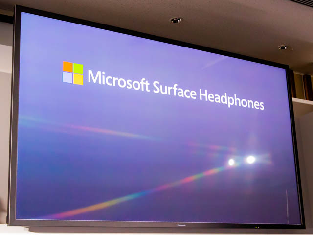 Microsoft Japan Surface Event SurfaceHeadphones