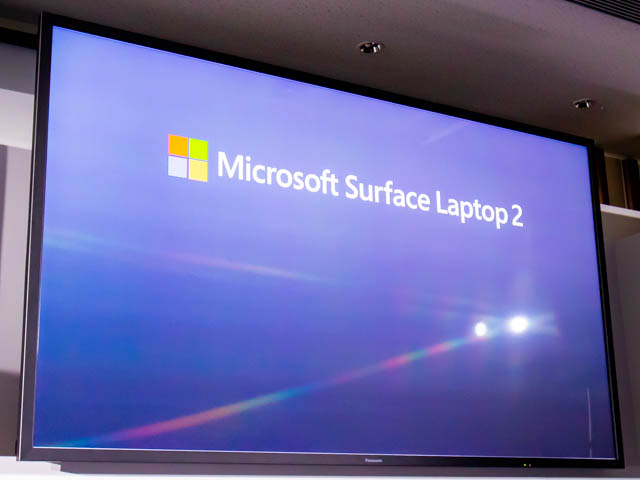 Microsoft Japan Surface Event SurfaceLaptop2