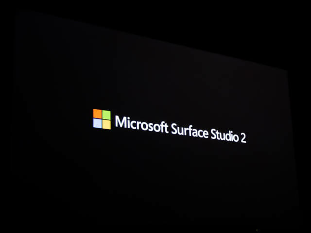 Microsoft Japan Surface Event SurfaceStudio2