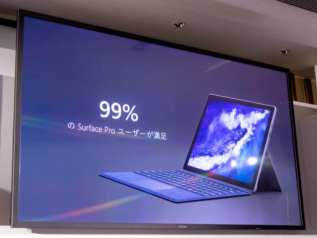 Microsoft Japan Surface Event SurfaceProユーザー満足度