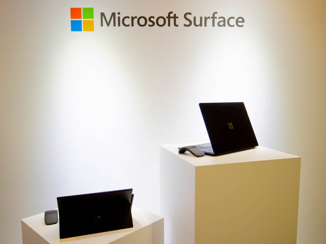 Microsoft Japan Surface Event タイトル
