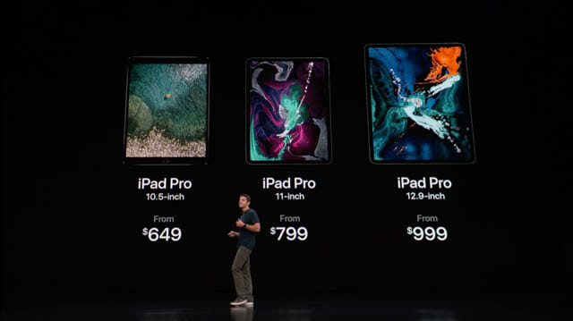 AppleSpecialEvent201810 iPadPro 価格