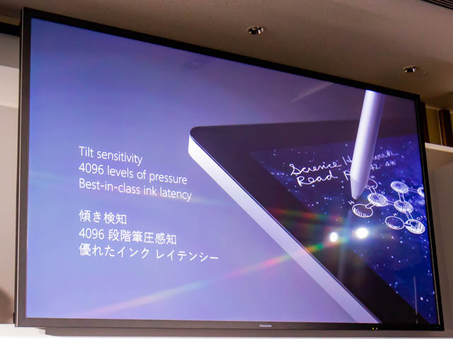 Microsoft Japan Surface Event SurfaceStudio24096段階筆圧感知